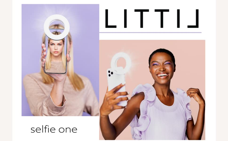 LITTIL Selfie One, Selfie Light, Ring Light, Zoom Light,