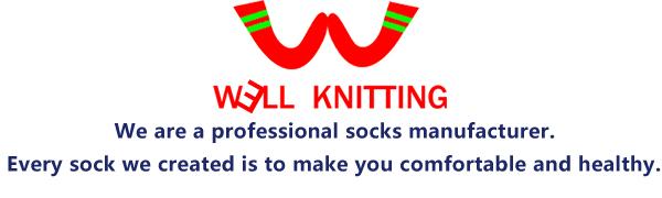 well knitting non-binding diabetic socks