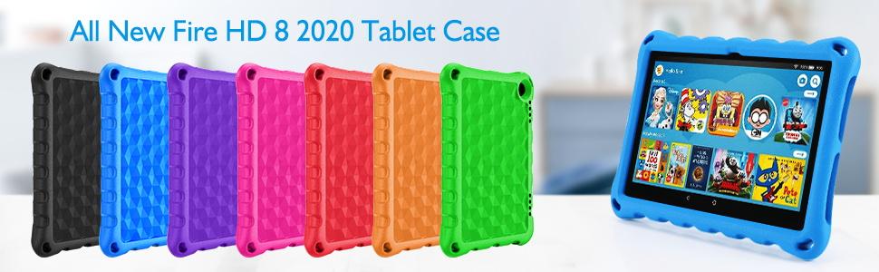 fire hd 8 plus case for kids  2020