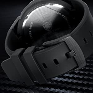 men's watches rubber band