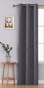 energy saving curtains noise reducing drapes panels curtains for kids room nursery french door