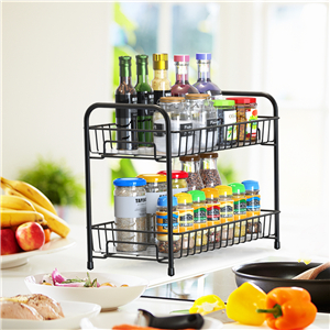 Kitchen Countertop Spice Rack