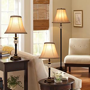 lamp set of 3 for desk