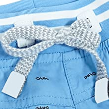 Elastic waistband withdrawstring