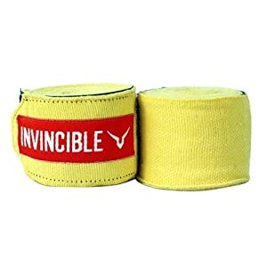 Invincible Hand Wrap Yellow