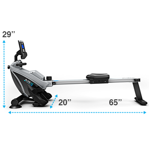 Bluefin Fitness Blade 2.0 Magnetic Rowing Machine