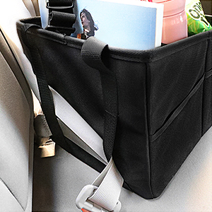 Car Seat Organiser Front And Back Seat Organiser For Adults And Children With Cup Holders Strap Attachment And Storage Compartments For Toys Books Snacks And Other Utensils Baby