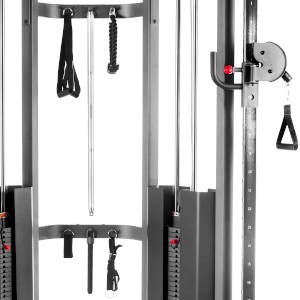 Accessories included with the XMark functional trainer