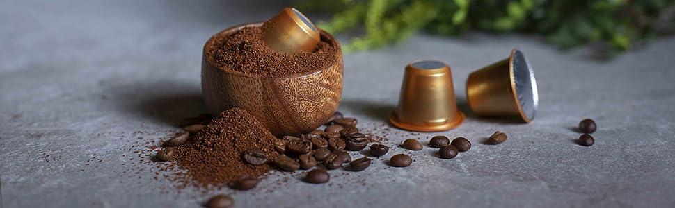 Capsules Coffee Ground