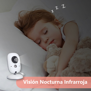 vigila bebes con visión nocturna