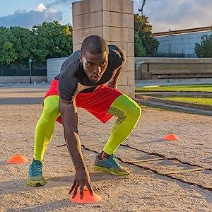 athlete training cardio speed agility