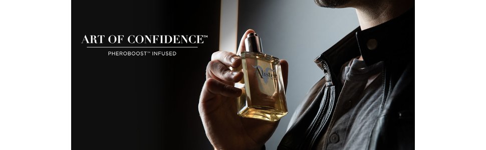 Art Of Confidence Banner with Cologne