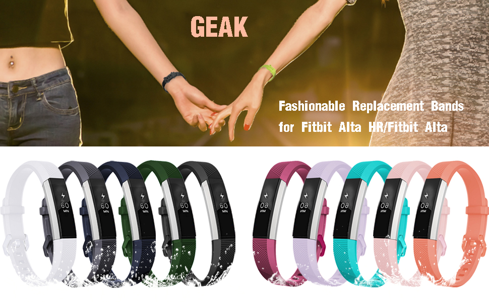 GEAK for fitbit alta bands/alta hr bands/ace bands