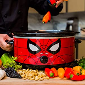 Marvel Spiderman Slow Cooker Uncanny Brands