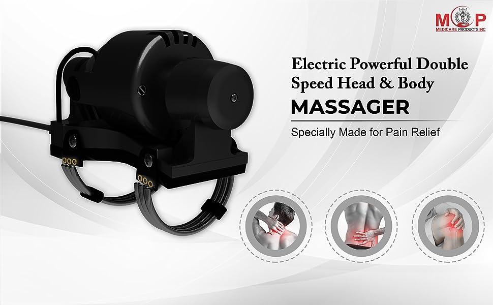 hamza massager, double speed massager, head massager, body massager, back massager, shoulder