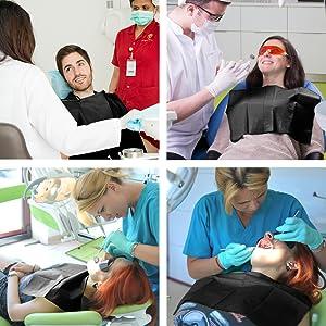 waterproof dental bibs clinic patient use