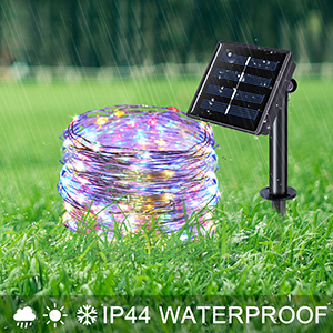 solar string lights outdoor waterproof