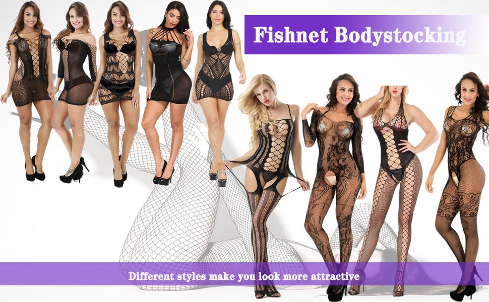 fishnet bodysuit