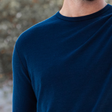 merino wool can absorb up to 30% of its dry weight in moisture keeping you dry and cool