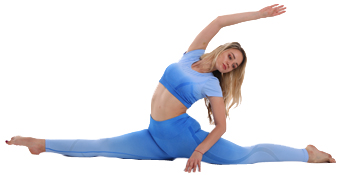 gradient yoga leggings