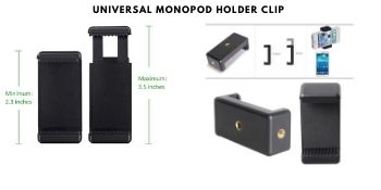 With Mobile Holder