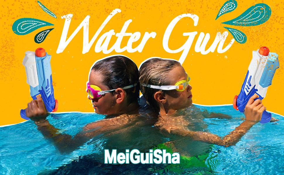 Large Splash Water Gun Blaster Kids Water Fun Activity Games Summer Party Fun