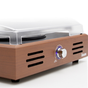 Record player built-in speakers