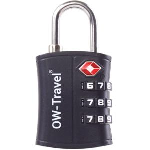3 Dial TSA Approved Luggage Lock. 3 Digit Combination Padlock: Suitcase Backpack Gym Locker Tool Box