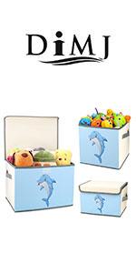 Boîtes de rangement pour jouets