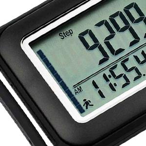 SC3D Digital Pedometer, step target