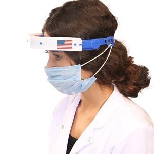 transparent face mask kids face shield masks for adults plastic face shield mascaras