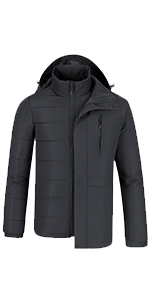 puffer ski jacket