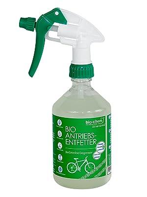 Bio Chem Kettenreiniger Fahrrad Antriebsentfetter Chain Degreaser 500 Ml Für Fahrradkette Bremsbeläge Antriebsteile U V M An Jedem Fahrrad Sowie E Bike Drogerie Körperpflege