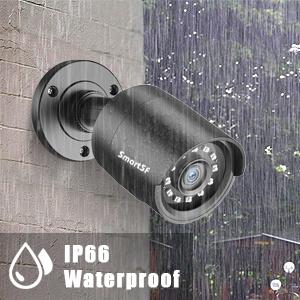 waterproof cctv system