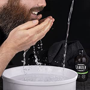champu barba