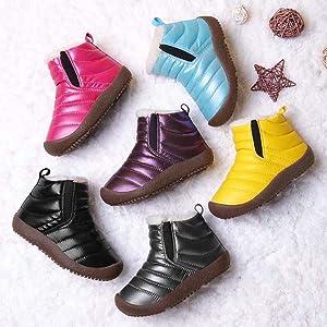 kid waterproof snow boots