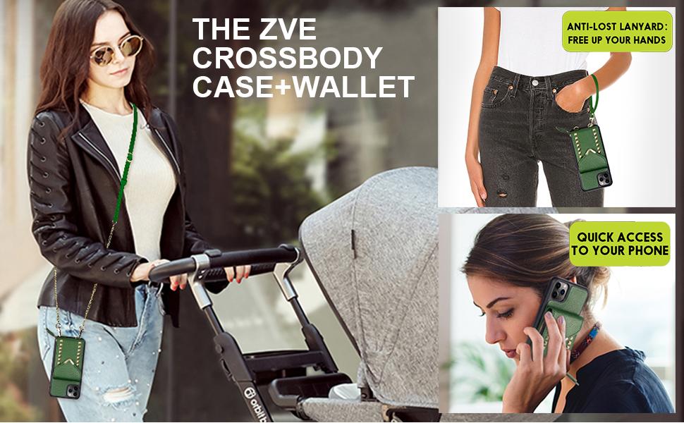 ZVE Crossbody Wallet Case