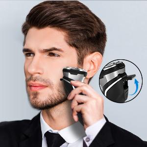FLYCO Afeitadora Electrica Hombre, Máquina de Afeitar Inteligente ...