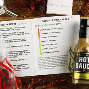 making homemade hot sauce