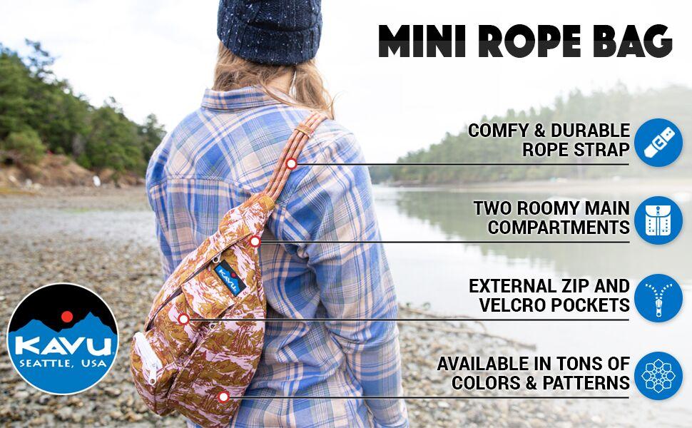 Amazon.com: KAVU Women's Mini Rope Bag Outdoor Backpacks