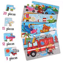 puzzle di legno per bambini