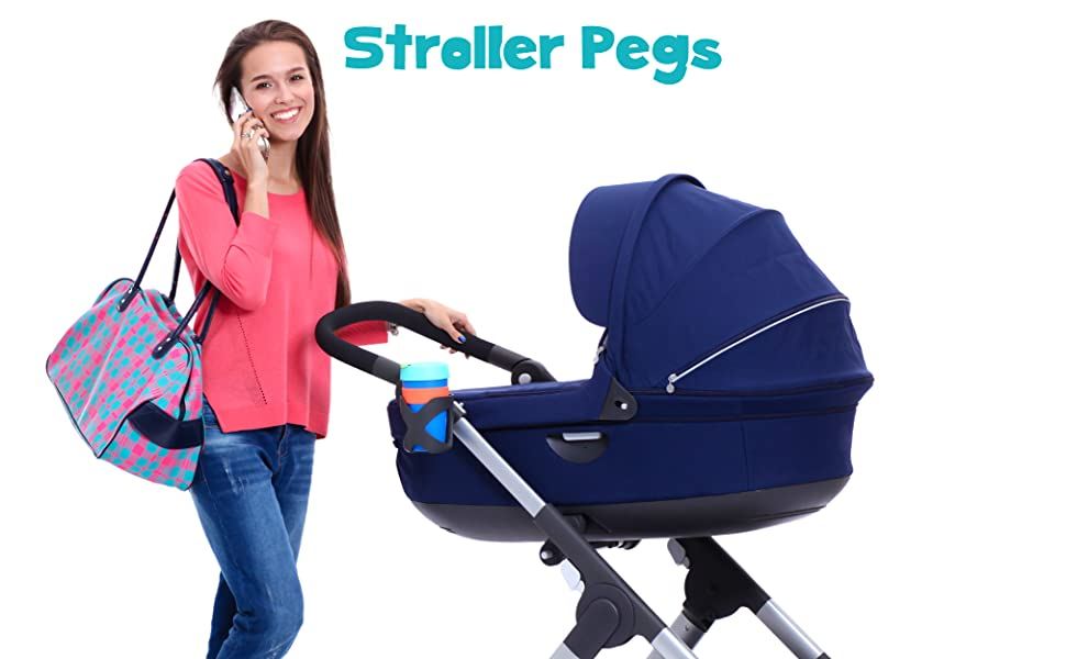 stroller pegs to hook muslin canopy cover clips pram toy holder blanket clamp baby gift accessory