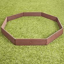 octagon garden bed