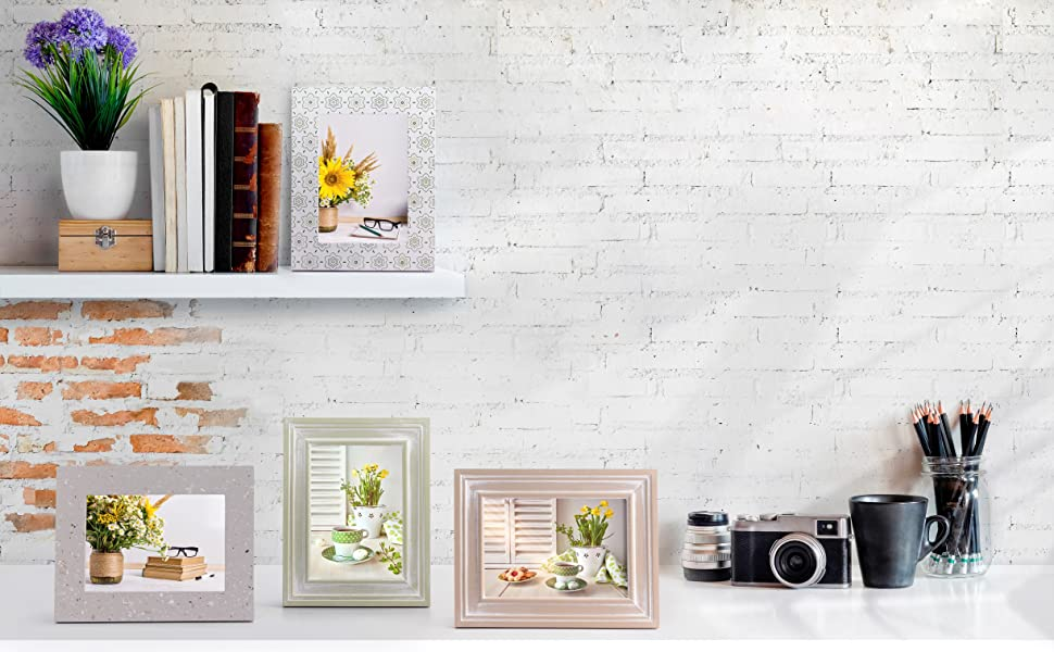 Ohana Avenue 4x6 Picture Frames for wall collage