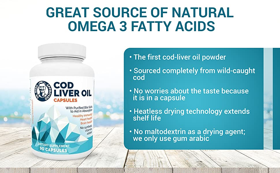 Dr Bergs Omega 3Fatty Acids Source