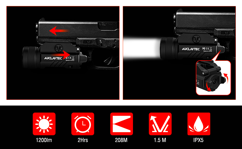 The Auclaytec Weaponlight