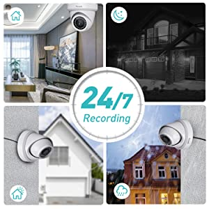 4K 8MP Home Business Surveillance kit