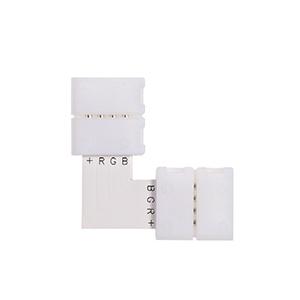 L Shape 4 Pin LED Strip Connector