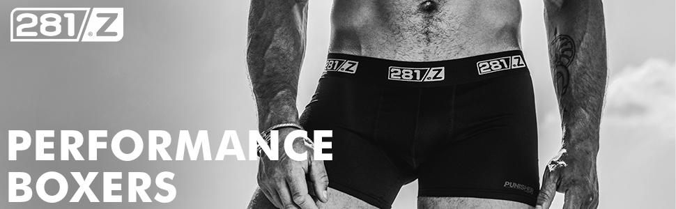 281z boxers underwear comfortable combat cotton atletic no fly pouch sport briefs trunks