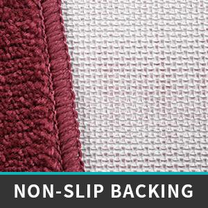 non-slip backing